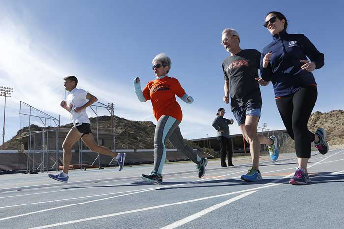 UTEP Employees Run Into Fitness