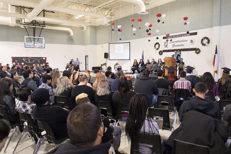 Socorro ISD celebrates Options High School Graduates