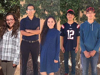 5 Valle Verde ECHS Students Named National QuestBridge Finalists