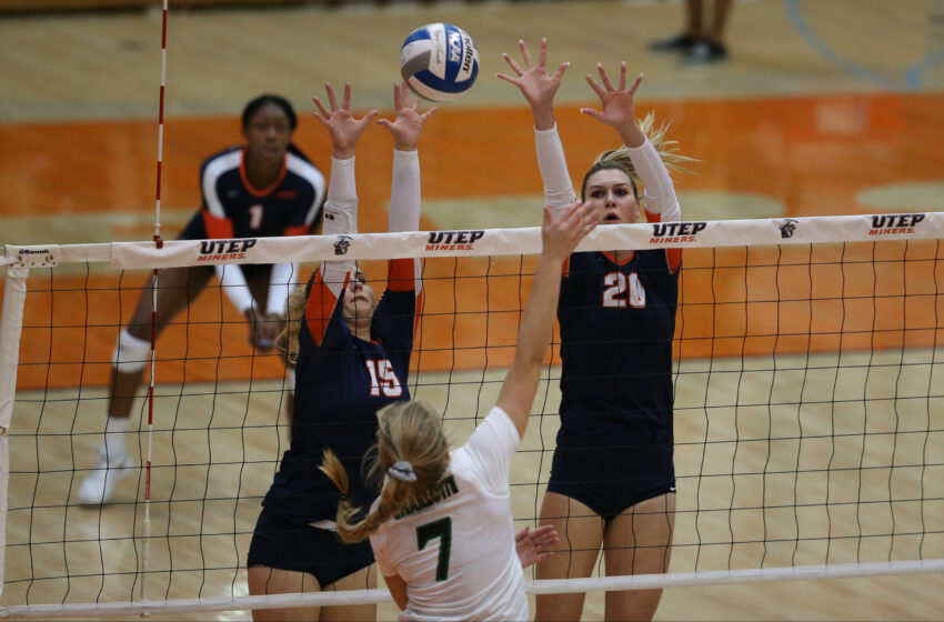 UTEP Volleyball Sweeps 49ers on Senior Day