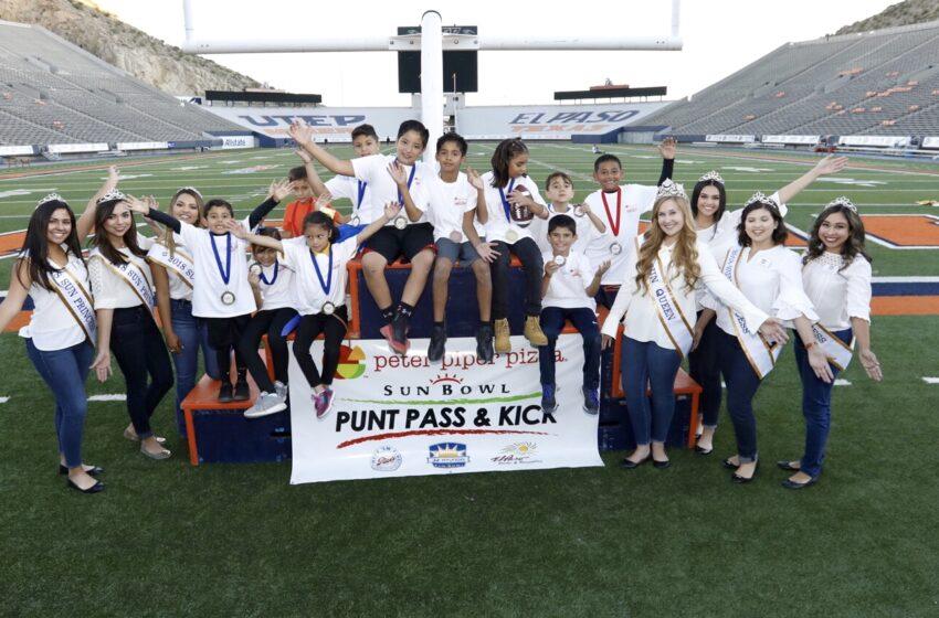 Sun Bowl Association Announces Punt, Pass, and Kick Winners