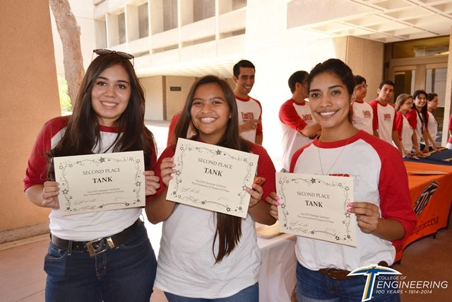 Clint HS Girls Attend UTEP Engineering Camp