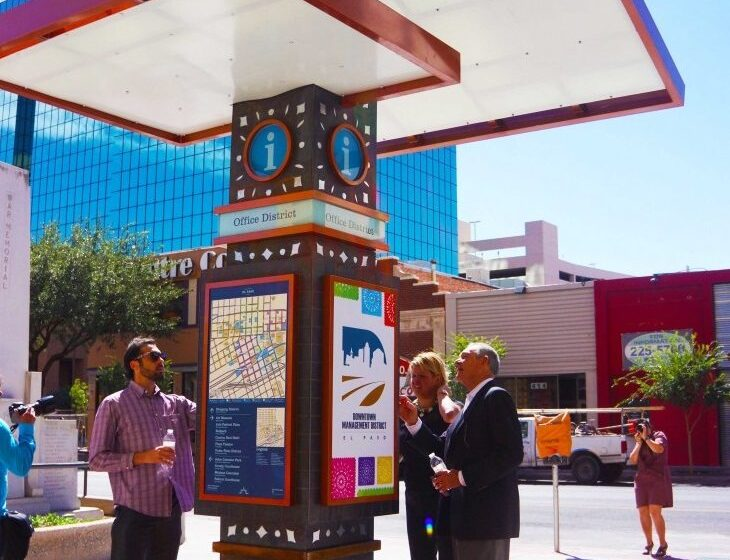 Community Meeting for Downtown Wayfinding Kiosks Project Wednesday Night