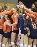 UTEP Volleyball victorious over South Alabama 3-2