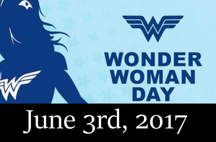 Wonder Woman Day is in June
