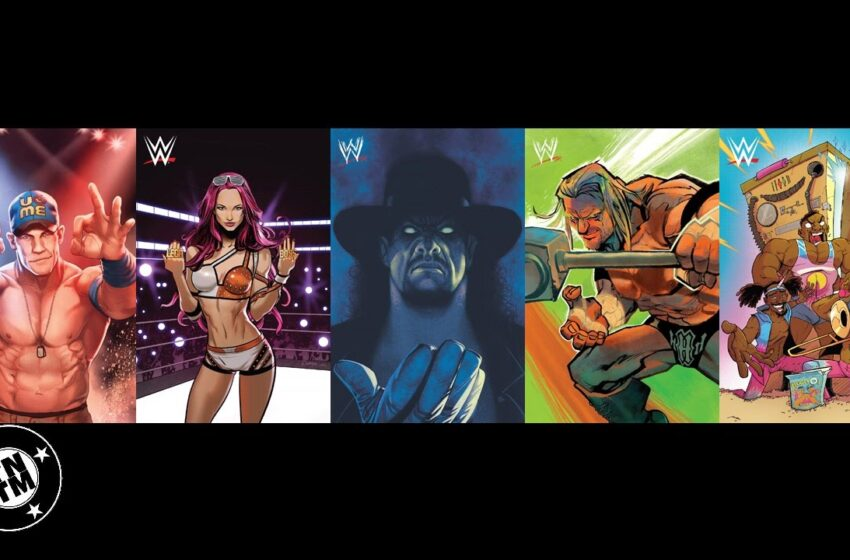 TNTM: WWE Brings the SmackDown to Boom! Studios