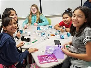 Young Women's Leadership Academy develop future scientists during STEAM E-Day