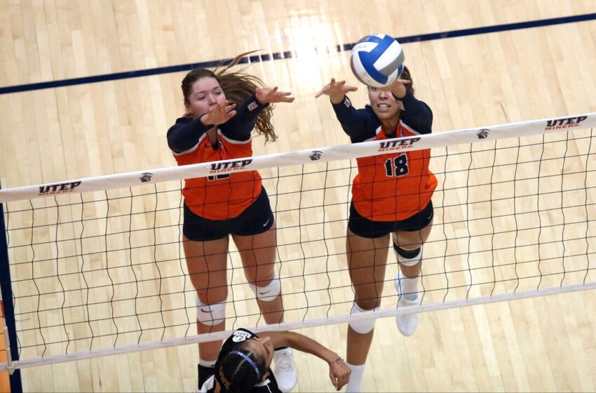 UTEP Volleyball Team Stumbles Against Middle Tennessee