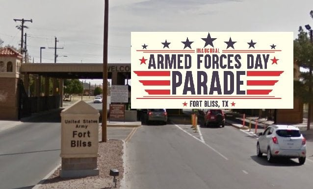 Fort Bliss to Hold First-Ever Armed Forces Day Parade Saturday