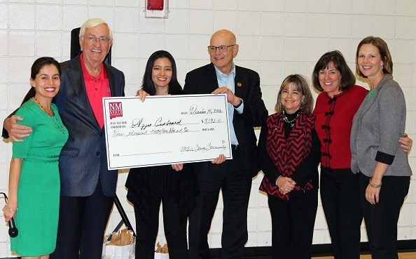 Aggie Cupboard Food Pantry Receives more than $9,000 to help NMSU, DACC Students