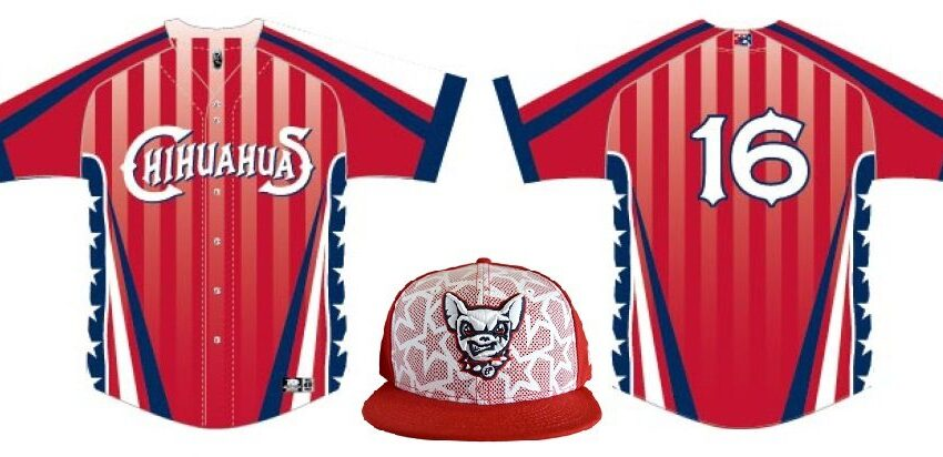 Chihuahuas Unveil Stars and Stripes Caps, Jerseys for GECU Independence Day Celebrations