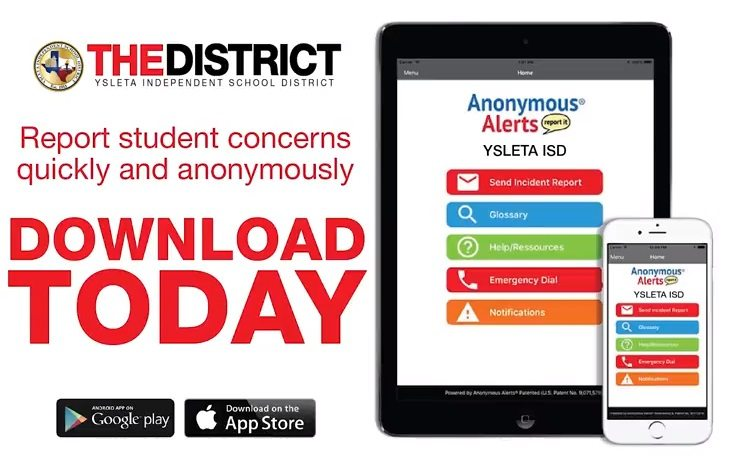 YISD Introduces New App to Report Bullying, Campus Concerns