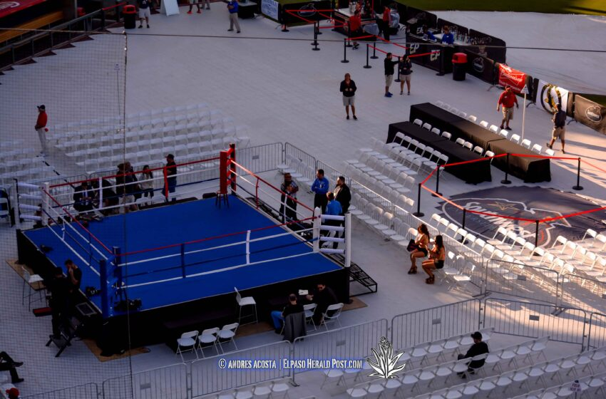 Story In Many Pics: Fight Night in Downtown El Paso