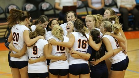 UTEP Volleyball Falls at Texas Tech