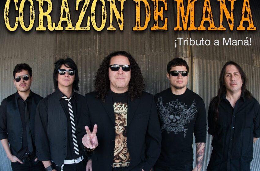 Video+Story: Maná Tribute Band Corazón De Maná Set for Free Concert Friday