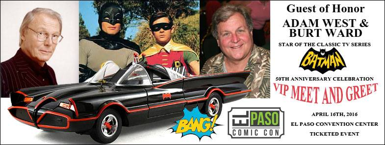 2016 El Paso Comic-Con set for Convention Center with World-Renowned Guests