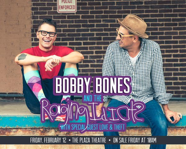 Bobby Bones and The Raging Idiots set to play at the Plaza Theatre