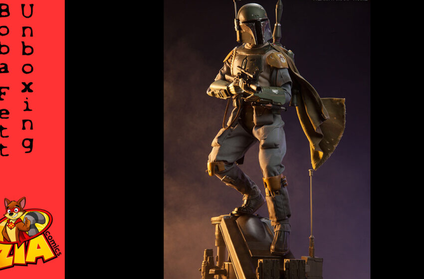 Boba Fett by SideShow Collectibles Unboxing