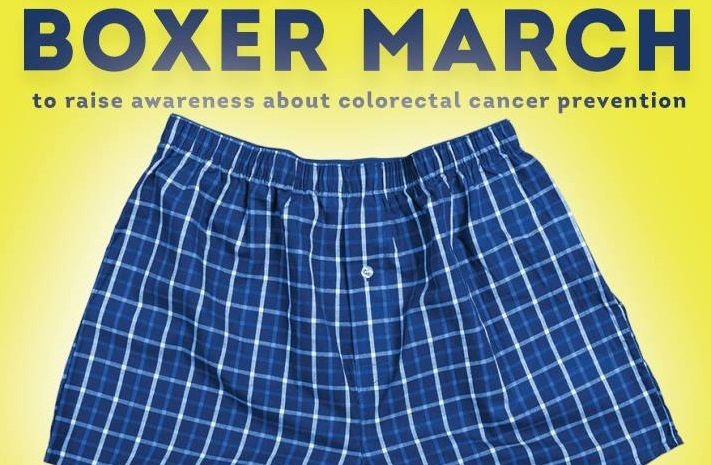 Ttuhsc El Paso Hosts Boxer Briefs Walk In Support Of Colon Cancer Awareness El Paso Herald Post