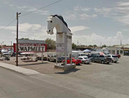 Four arrested for allegedly selling pirated music at Bronco Swap Meet