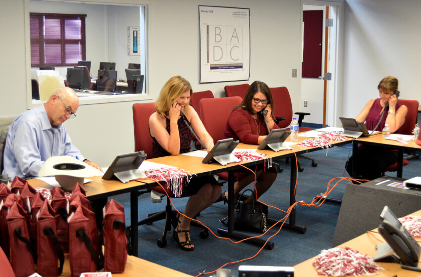 NMSU Leaders hit the Phones to Boost Scholarship Funds for Students