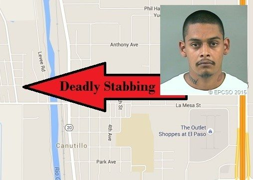 Man arrested after deadly stabbing in Canutillo
