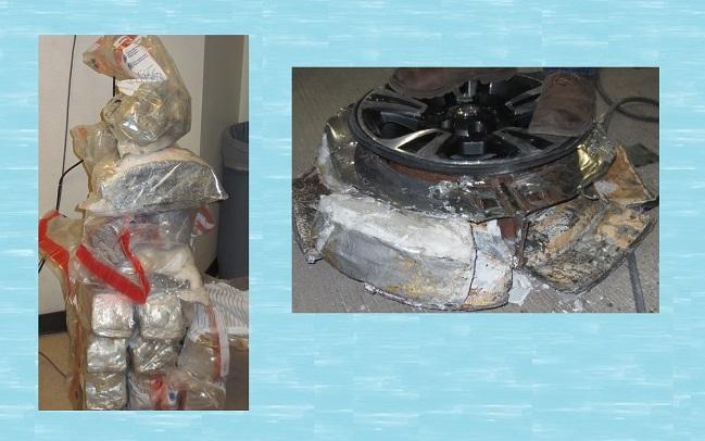 CBP Officers make huge back to back drug busts at Ysleta Port of Entry