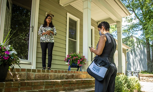 Census takers start follow up visits with non-responding households