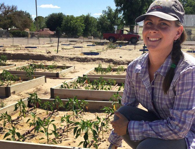 Video + Story: NMSU Graduate Student tests Organic Chile Fertility