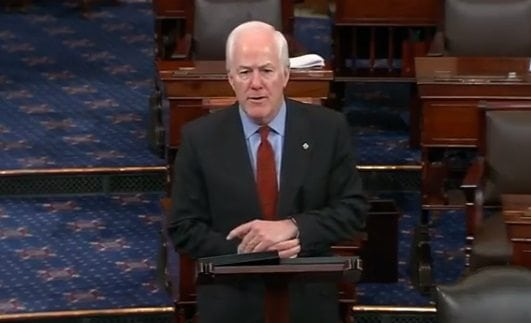 Op-Ed: Cornyn Applauds Trump's Response to Chemical Attacks in Syria