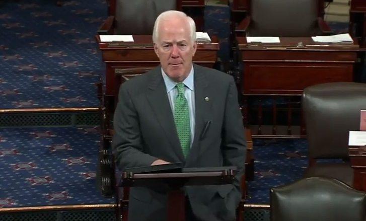 Video: Cornyn Addresses Wednesday's Shooting Outside Washington