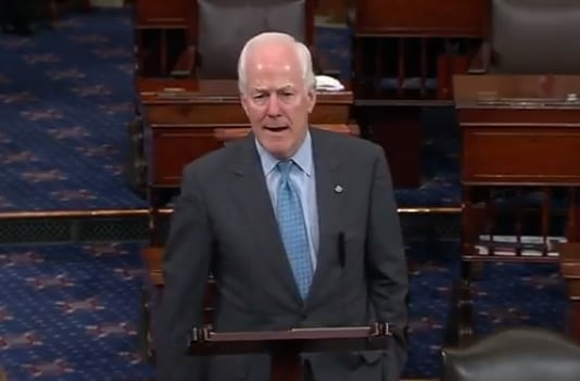 Video: Cornyn Calls on Senate to Consider Russia Sanctions