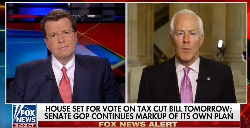 Cornyn on Fox: Senate Tax Reform Proposal Will Bring Companies, Jobs Back from Overseas