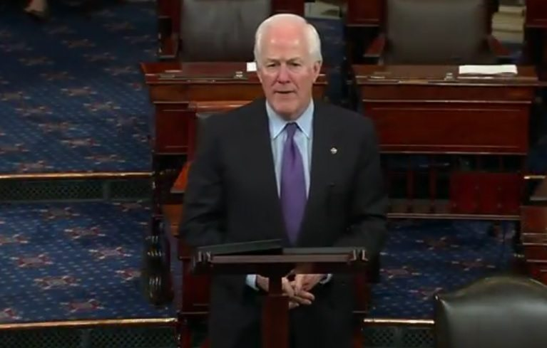 Cornyn: Texas families, small businesses recovering; But more relief needed