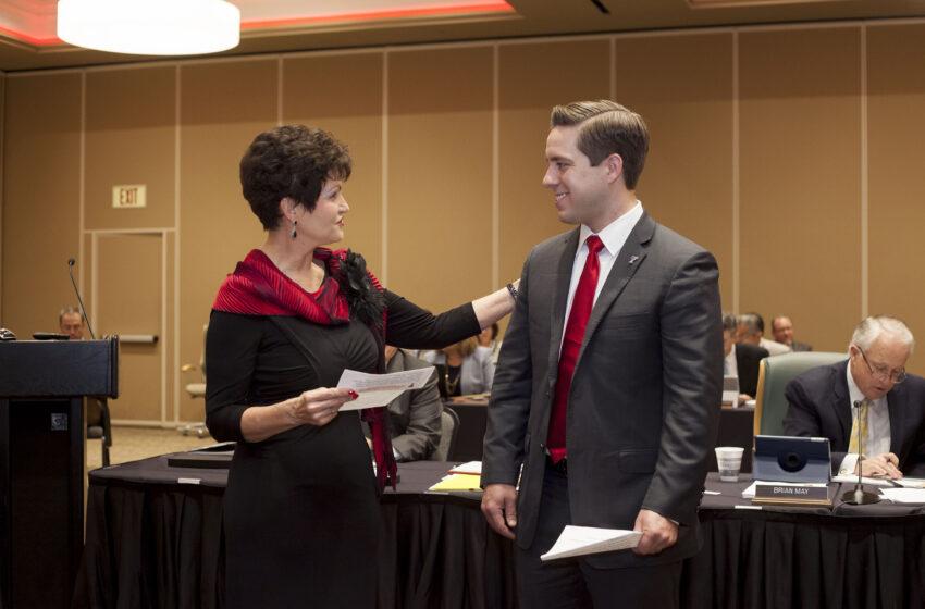 TTU System Board of Regents Swears in First TTUHSC El Paso Student Regent