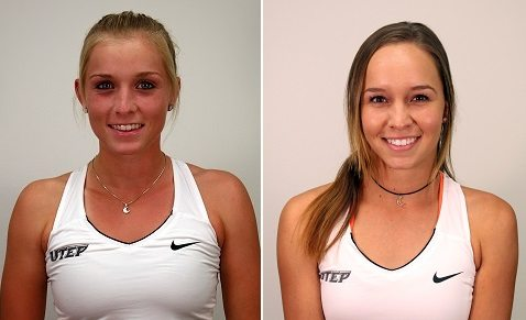 UTEP Tennis Duo Ranked; Highest Ranking among C-USA Doubles Teams