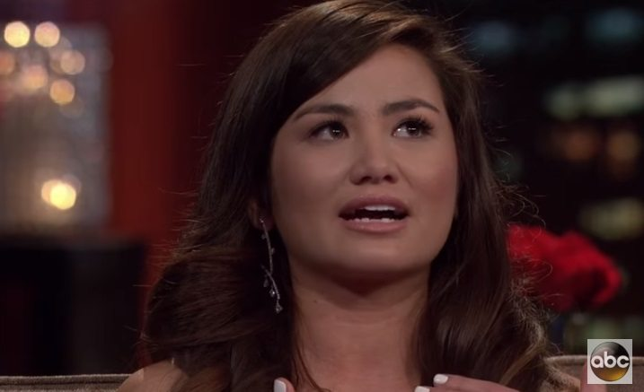 "ABC ""Bachelor"" star wearing El Paso Jewelry Designer Susan Eisen's Diamond Earrings"