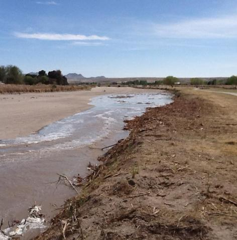 Water Returning to Rio Grande, Expected to be in El Paso Area Monday Afternoon