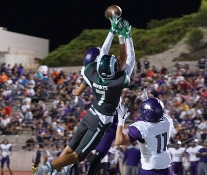 Story in Many Pics: Montwood Outlasts Eastlake 22-13