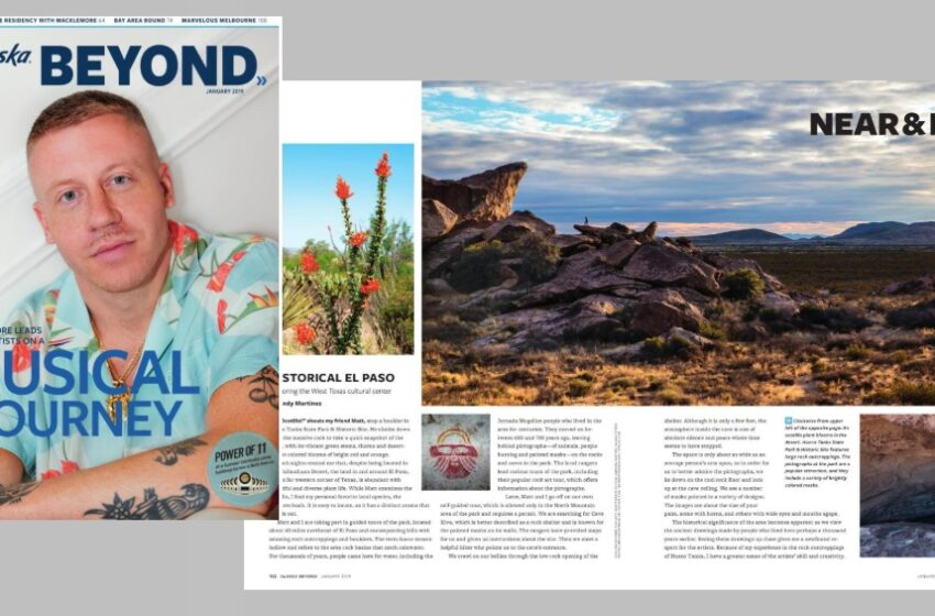 El Paso Featured in Alaska Airlines Travel Magazine