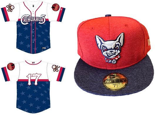Chihuahuas Unveil Stars and Stripes Jerseys, New Era Caps