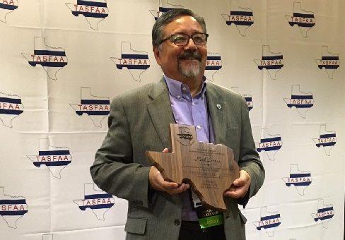 EPCC Administrator Receives TASFAA Hall of Fame Award