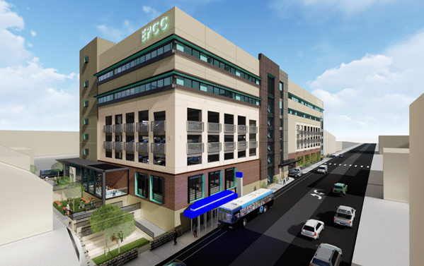 EPCC Medical Building, Parking Garage Signal Start of Rio Grande Campus Upgrades