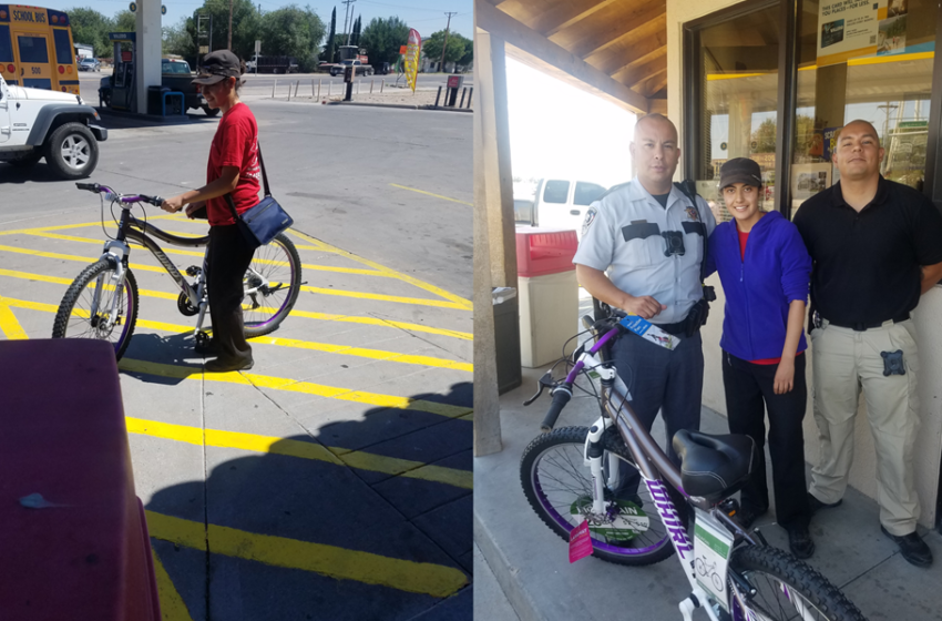 El Paso County Sheriff Deputies Donate Bike to Clint Resident