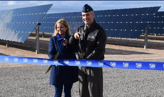 U.S. Air Force, El Paso Electric Launch New Solar Facility at Holloman AFB