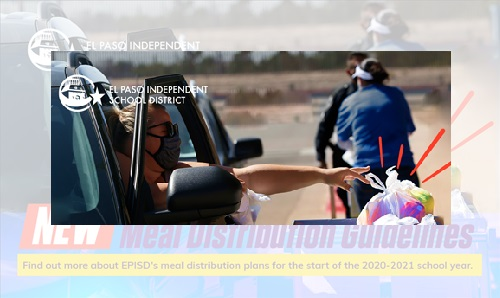 EPISD announces guidelines for meal distribution during virtual learning
