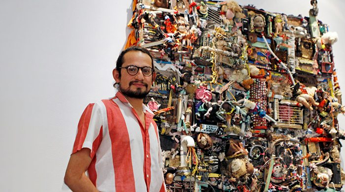 UTEP Art Student is First to Exhibit at El Paso Museum of Art