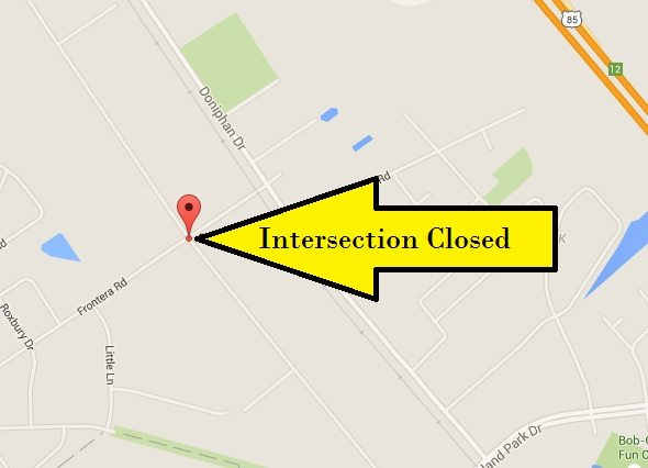 EP Water Utility work to close Upper Valley Intersection