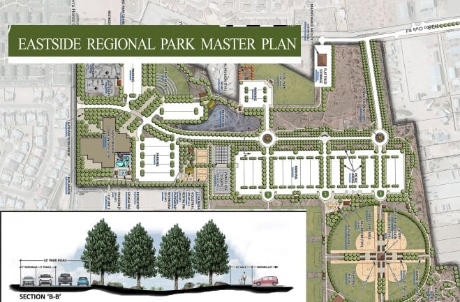 City Approves Construction Contract for Eastside Regional Park and Facilities