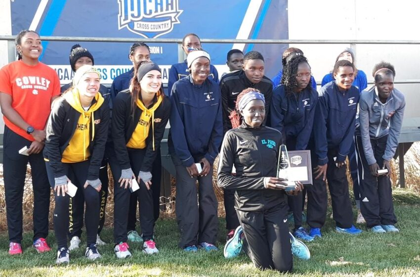 EPCC's Kemboi Wins National Championship; Women's Team Places 2nd, Men Place 3rd